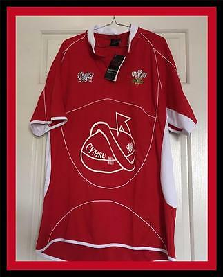Welsh Rugby Union Jersey  - Mens Size Large - New With Tag