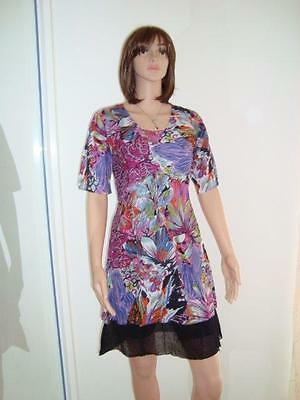 2305 Comfortable  Cotton Lined Dress,  Bulk Pack of 7 Mixed Colours and Sizes