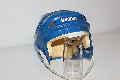 Vintage COOPER HH1000S Hockey Helmet BLUE COLOR ** Not SENIOR / but JUNIOR L@@K