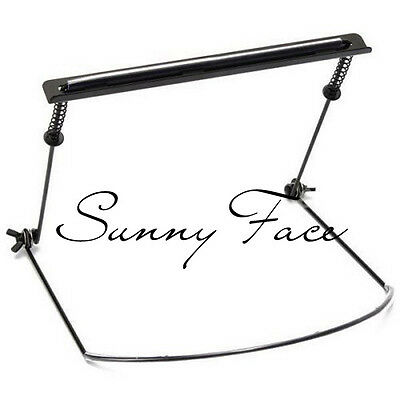 1pc Harmonica Rack Neck Holder Harp Stand Support Playing Large Metal Frame