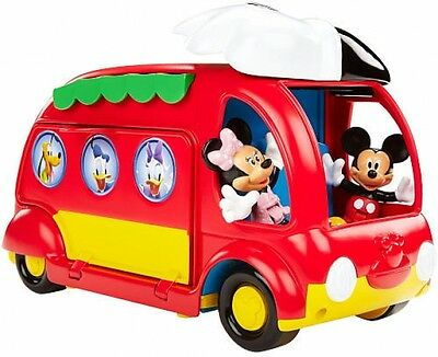 Mickey Mouse Clubhouse Cruisin Camper Fisher Price Disney Kids Building Play Set