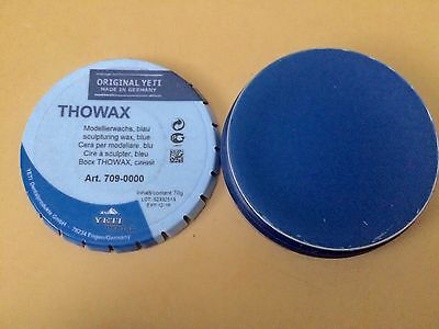 YETI - Thowax Sculpturing Wax - Blue 70gr-Art 709-000-Germany