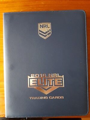 2016 Esp Nrl Elite Complete Common Set And Album
