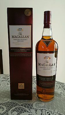 Macallan Whiskey Makers Edition! Duty Free 1 Litre!! Brand New & Sealed!