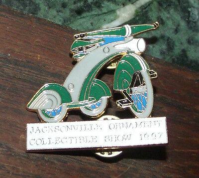1997 Jacksonville Ornament Collectible Show Lapel Pin