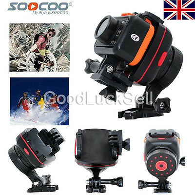 SOOCOO PS2 Adjustable 1 Axis GoPro Video Camera Mount Gyro Gimbal Stabilizer UK