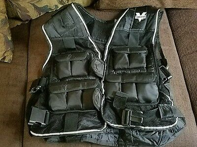 Valeo Fitness Gear Exercise 20 lb. Weighted Vest For Strength Training Excercise