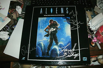 Aliens Collector's Edition Laserdisc Signed By Lance Henriksen & Paul Reiser +1