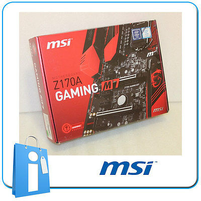 Placa base ATX Z170 MSI Z170A GAMING M7 Socket 1151 con Accesorios