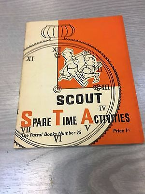 Scouts - Spare Time Activities 1962
