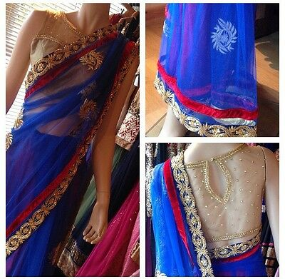 Indian/pakistani Bollywood Designer Saree