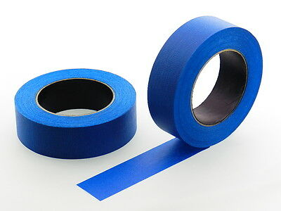 "2 QUALITY USA MADE 1.5"" Blue Painters Masking Trim Edge Tape 180' 60 yd roll"