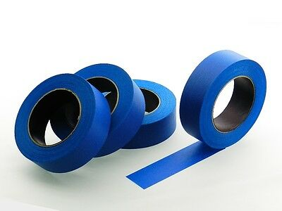 "4 QUALITY USA MADE 1.5"" Blue Painters Masking Trim Edge Tape 180' 60 yd roll"