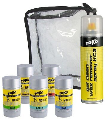 "TOKO Nordic Waxset ""Base+Grip PLUS"""