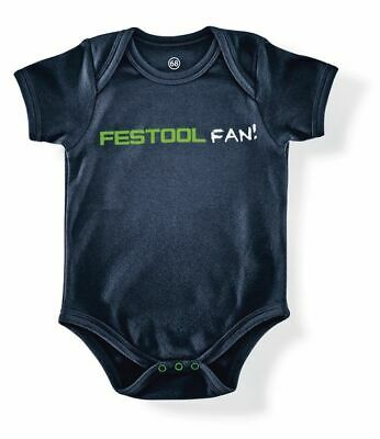 "Festool Babybody In Blau ""festool Fan"" Aufdruck 202307 Fanartikel Gr. 68"