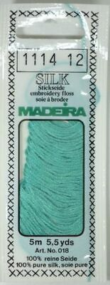 Madeira 100% PURE SILK 4-Strand Hand Embroidery Thread Colour 1114