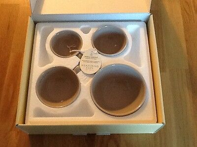 Nigella Lawson's Living Kitchen Set of 4 Latte Measuring Cups New In Box