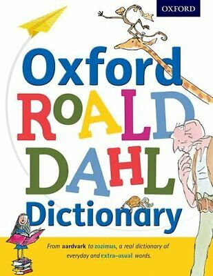 Oxford Roald Dahl Dictionary by Oxford Dictionaries Book The Cheap Fast Free