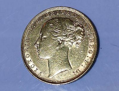 1880 Young Head Queen Victoria Full Sovereign 22Ct Gold With Case