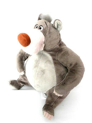 """Genuine Authentic Disney Store Baloo The Jungle Book Plush Toy Approx 13"""""""