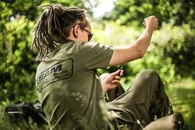 Korda Team T Shirt Heather Olive All Sizes Available