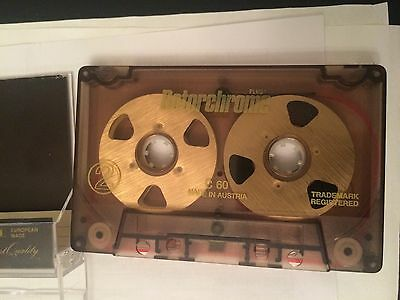 Rotorchrome Reel To Reel Audio Cassette C60 Vintage