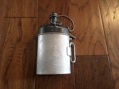Swiss Military Canteen 1932 Model Vintage Surplus Canteen And Cup