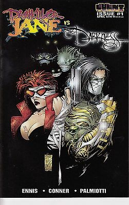 PAINKILLER JANE VS THE DARKNESS  1 (A cover)  ...NM - ....1997 ......Bargain!