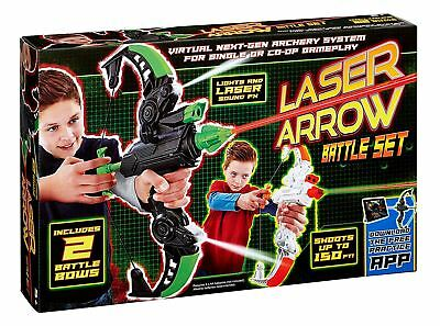 Vivid Two Bow Laser Arrow Battle Set