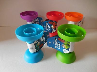 No Drip Cup Ice Cream Cone/Popsicle Holder Kid Protector 5 Colors BPA Free