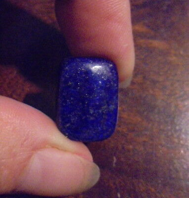 CABOCHON ROND PIERRE NATURELLE INDE LAPIS LAZULI 18 mm NATURAL STONE INDIA LL 19