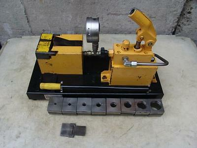 Parker 1015 Hydraulic Flaring Flare Flarer Machine With 8 Dies
