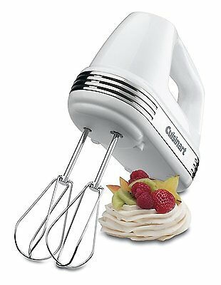 Cuisinart Power Advantage 7 Speed Hand Mixer - White