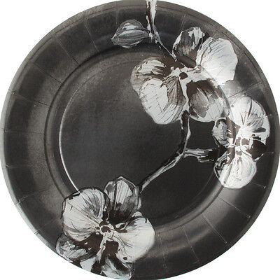 """Madhouse By Michael Aram 11.13"""" Orchid Fine Paper Dinner Plate (8 Count)"""