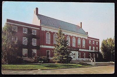 Nice Vintage US Postcard University of Maine 1966 With 3 1/2d Postage Due Cancel