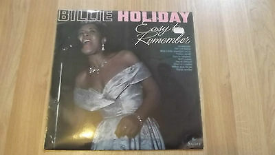 Billie Holiday. Easy To Remember, Scarce Uk Society, Original 1966.
