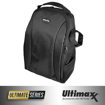 ULTIMAXX Padded Camera and Lens Backpack (Black)!! BRAND NEW!!