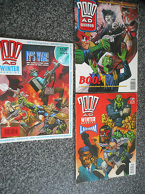 2000 AD Winter Special Collection