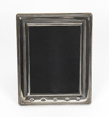 Vintage Classic Carrs Sterling Silver Photo Frame