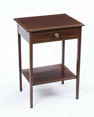 Antique Edwardian Inlaid Mahogany Occasional Table c.1900