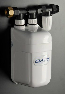 7,3 kW Dafi Electric Water Boiler / Heater Instantaneous NEW Tankless & Instant