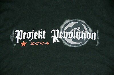 Linkin Park Projekt Revolution Concert Shirt 2004 Snoop Dog, Korn - Black XL