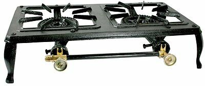 Buffalo Tools DBCIS Double Burner Cast Iron Stove NEW