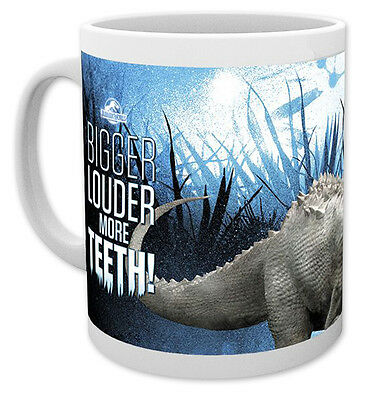 Jurassic World Tasse Bigger Louder More Teeth
