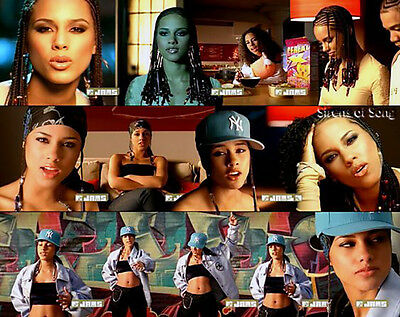 Alicia Keys Avirex Leather Jacket from 'How Come You Don't Call Me' Video
