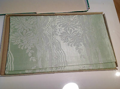 Boxed Vintage Tablecloth  Pale Green  Irish ?