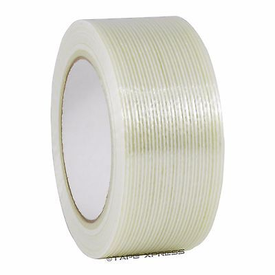 "2"" x 60 yd Filament Reinforced Strapping Fiberglass Tape 3.9 mil Free Shipping"