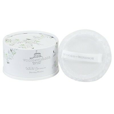 Woods of Windsor White Jasmine Dusting Powder 100g 3.5oz