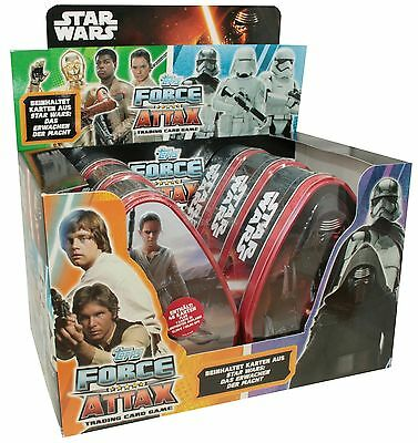 Force Attax - Star Wars - Erwachen der Macht - 1 Display (6 Tin Boxen) - Deustch