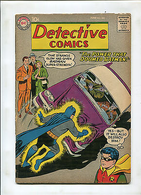 Detective #268 (4.0) The Power That Doomed Batman!